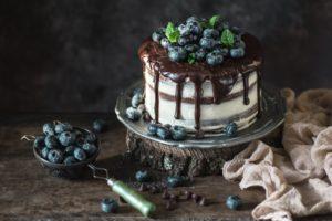 cake, Berries, Food, Chocolate