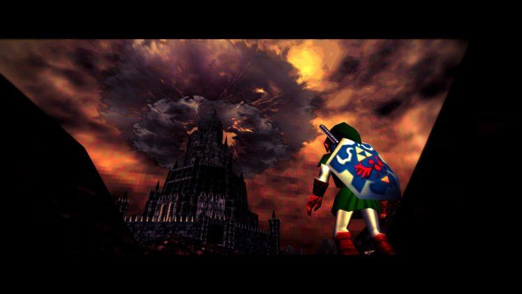 Link The Legend Of Zelda The Legend Of Zelda Ocarina Of Time N64 Nintendo 64 Video Games Hd Wallpapers Desktop And Mobile Images Photos