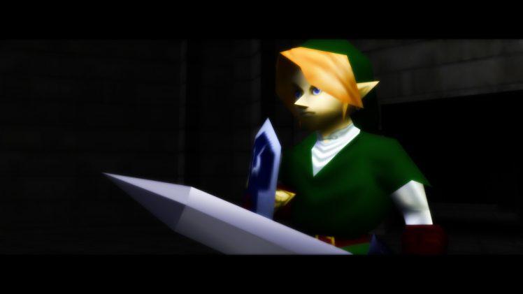 Link, The Legend of Zelda, The Legend of Zelda: Ocarina of Time, Ocarina of Time, N64, Nintendo 64, Video games HD Wallpaper Desktop Background