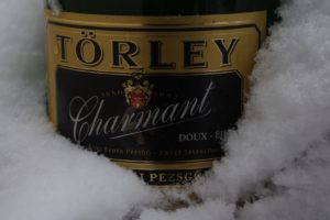 Hungarian, Champagne, Winter, Snow, Alcohol