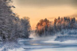 winter, Finland, Trees, Landscape, Nature, Snow, Ice