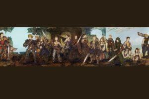 Final Fantasy, Final Fantasy Tactics, Delita, Ramza, Agrias