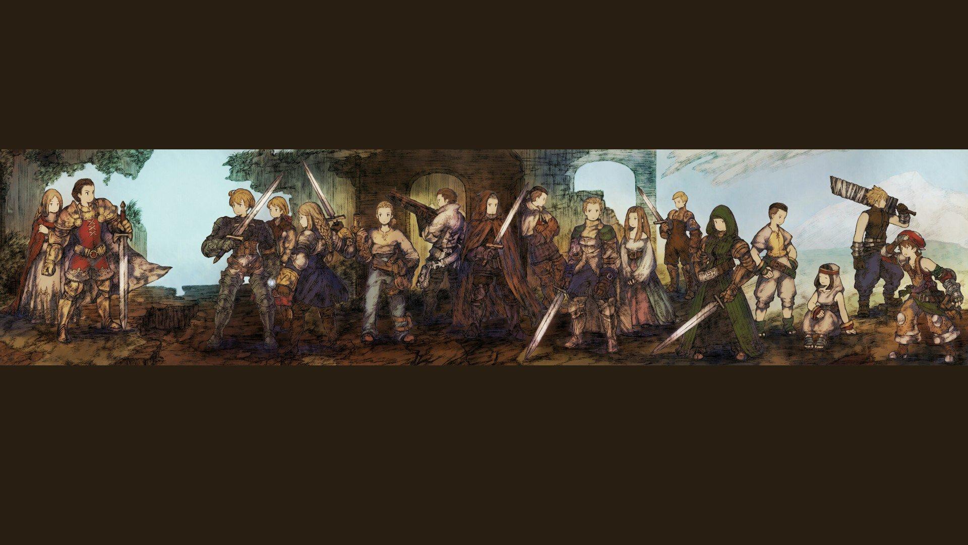 Final Fantasy Final Fantasy Tactics Delita Ramza Agrias Hd