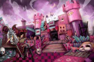 artwork, American McGee&039;s Alice, Alice: Madness Returns