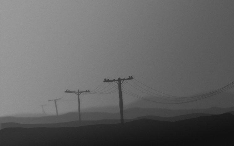 mist, Minimalism HD Wallpaper Desktop Background