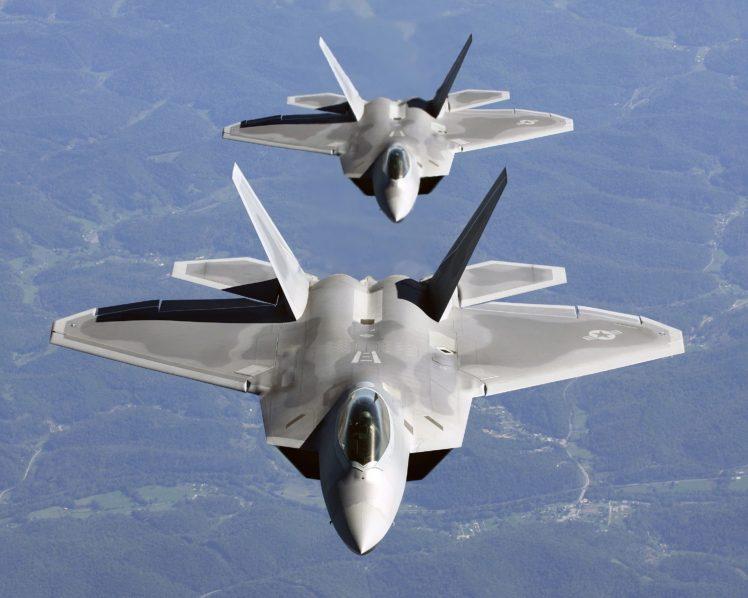 Lockheed Martin F 22 Raptor U S Air Force Hd Wallpapers