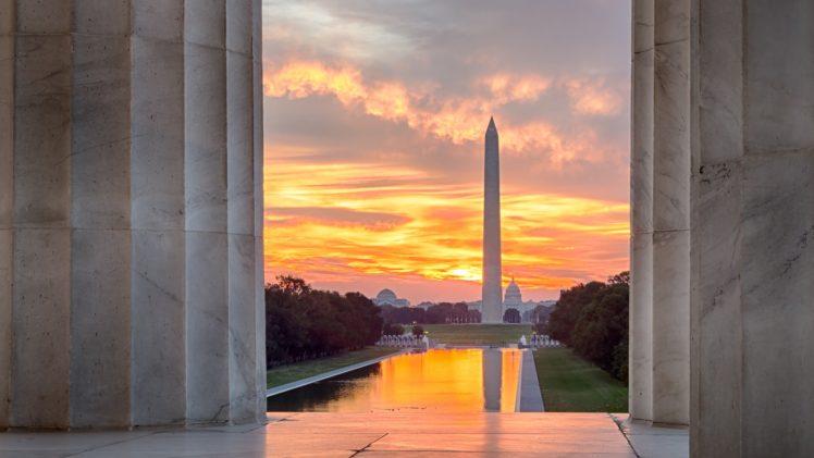 Architecture Building City Washington DC Monument Lincoln Memorial
