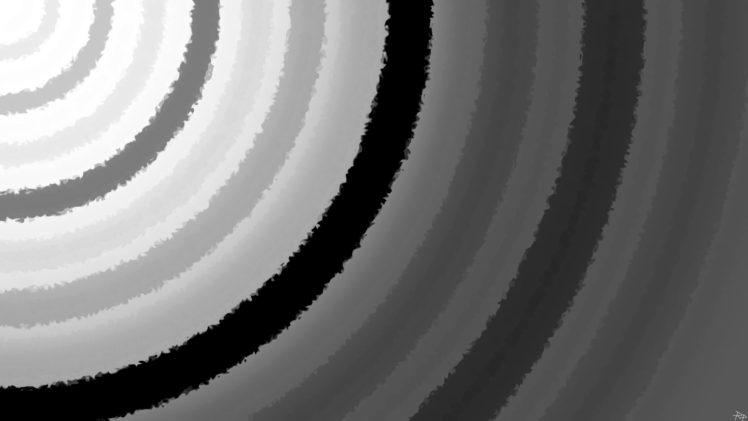 circle, Monochrome HD Wallpaper Desktop Background