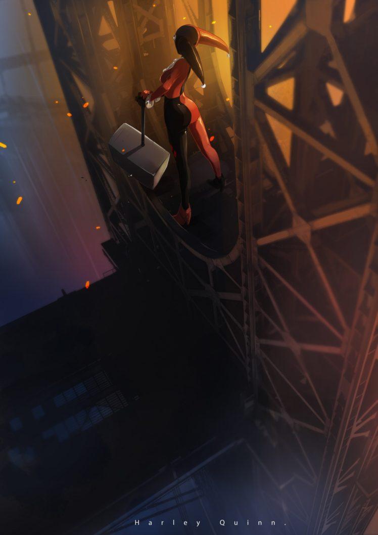 Harley Quinn, Fantasy art HD Wallpaper Desktop Background