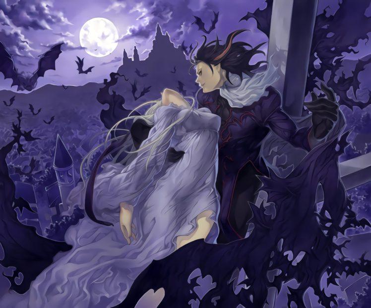 vampires, Fantasy art HD Wallpaper Desktop Background