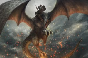 dragon, Fantasy art