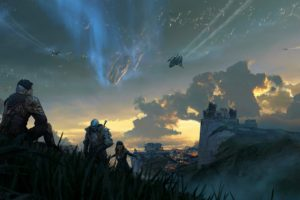 fantasy art, Space
