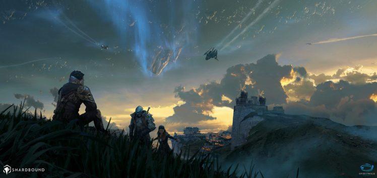 fantasy art, Space HD Wallpaper Desktop Background