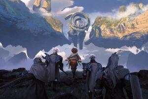 fantasy art, Futuristic