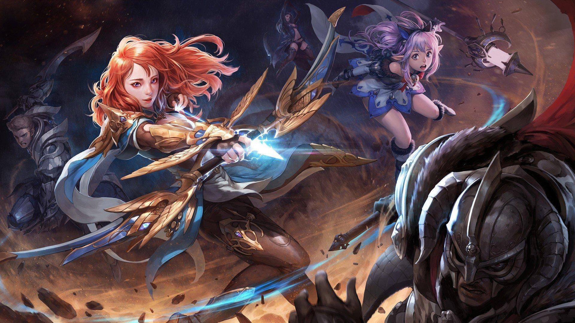 warrior, Archer, Fantasy art Wallpaper