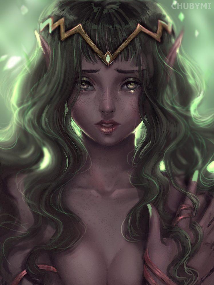 princess, Fantasy art HD Wallpaper Desktop Background