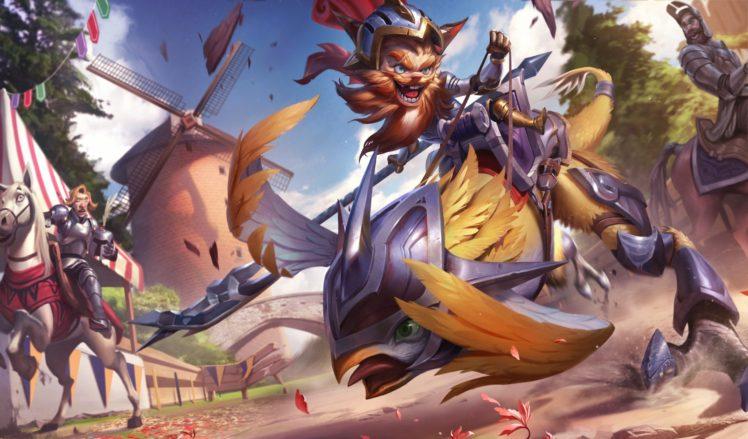 warrior, Fantasy art, League of Legends HD Wallpaper Desktop Background