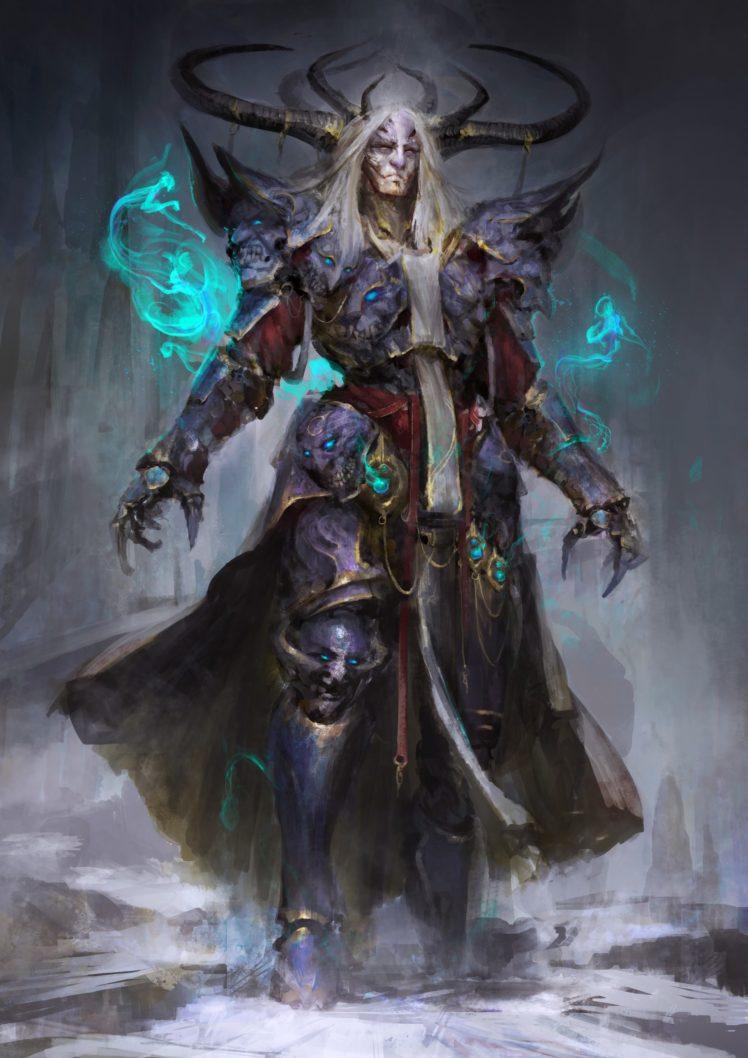 fantasy art, Magic, Demon HD Wallpaper Desktop Background