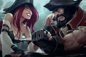 pirates, Miss Fortune (League of Legends), League of Legends, Gangplank