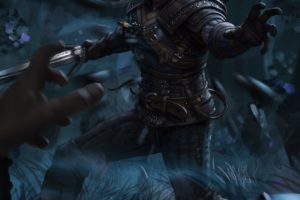 Geralt of Rivia, Magic, The Witcher, The Witcher 3: Wild Hunt