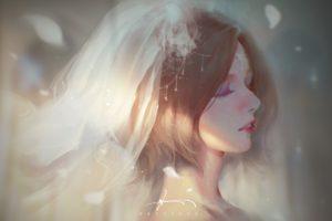 fantasy art, Weddings, Wedding dress