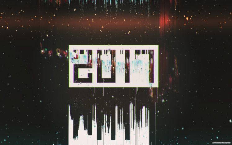 Glitch Art 2017 Year New Abstract HD Wallpaper Desktop Background