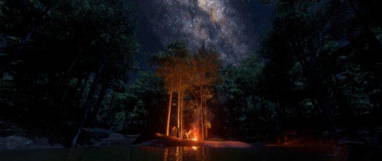 Ipad Retina Hd Wallpaper Rockstar Games: Rockstar Games, Red Dead Redemption 2, Forest, In Game