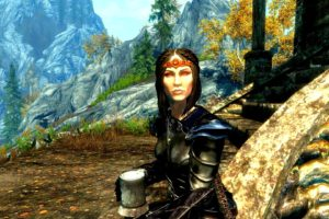 The Elder Scrolls V: Skyrim, Bethesda Softworks, Landscape, Tamriel, Video games