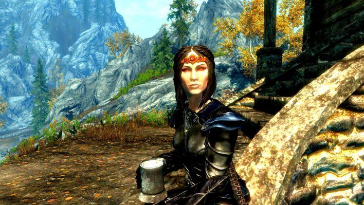 The Elder Scrolls V: Skyrim, Bethesda Softworks, Landscape, Tamriel, Video games HD Wallpaper Desktop Background