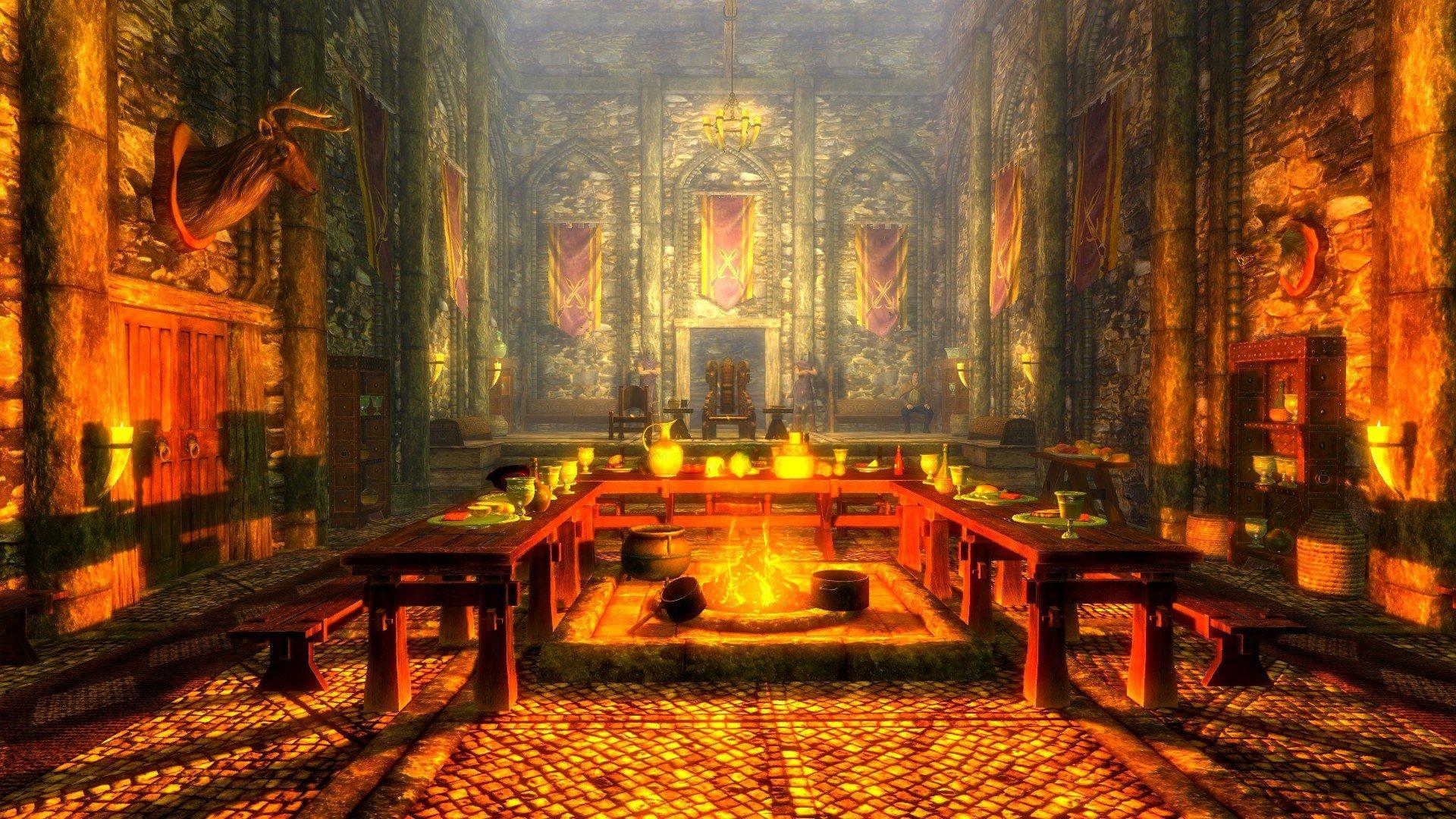 The Elder Scrolls V: Skyrim, Bethesda Softworks, Landscape, Tamriel, Video games Wallpaper