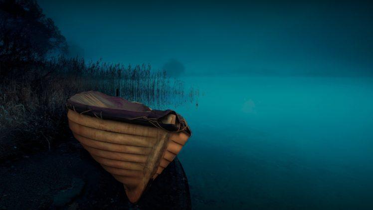 nature, Landscape, Boat HD Wallpaper Desktop Background