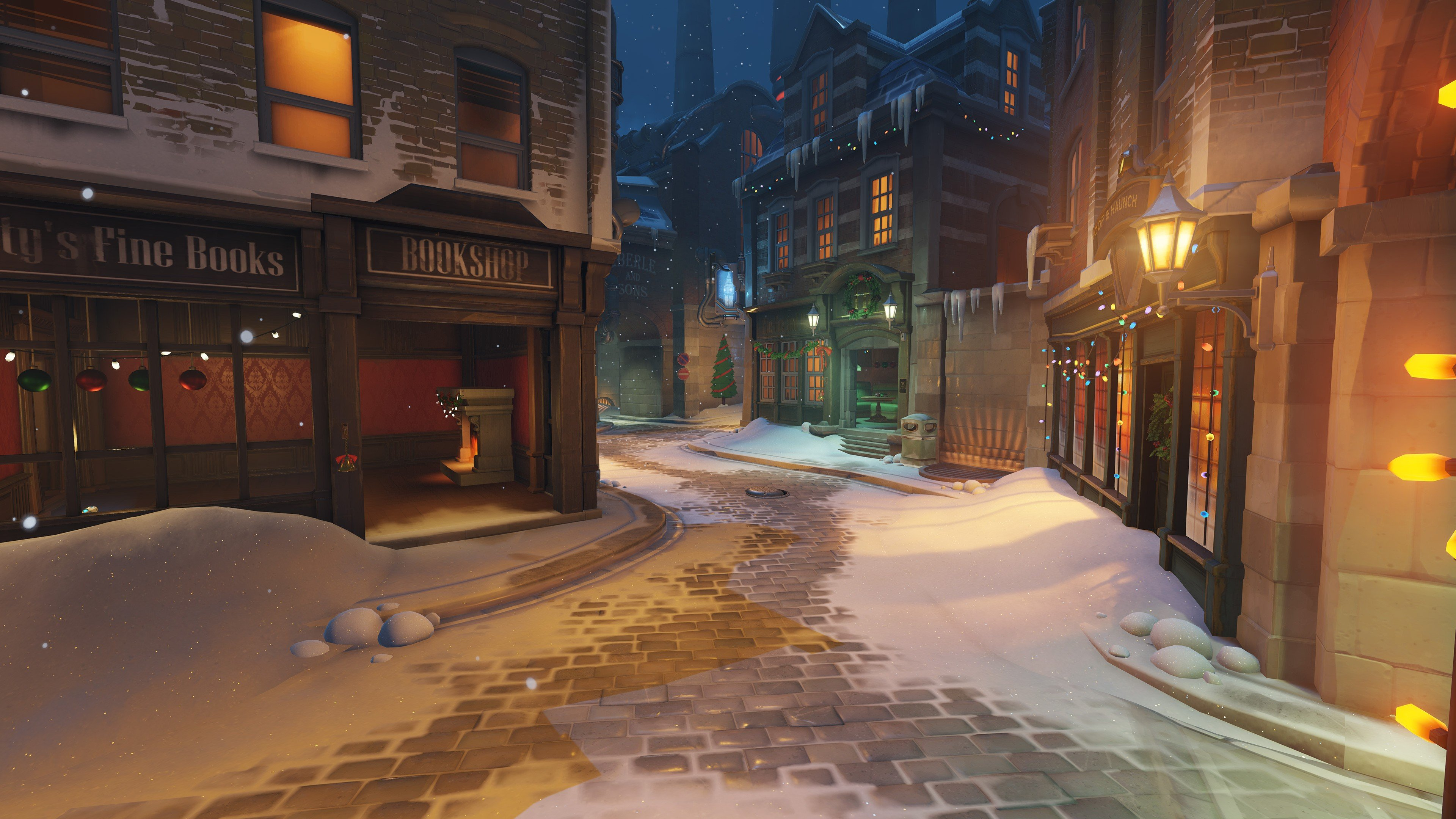 Kingsrow overwatch christmas hd wallpapers desktop and - Overwatch christmas wallpaper ...