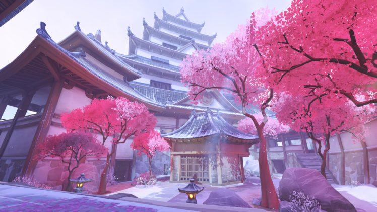 Hanamura (Overwatch), Overwatch HD Wallpaper Desktop Background