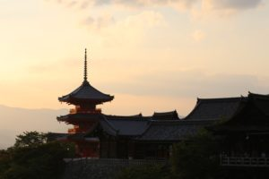 temple, Japan, Pagoda, Red