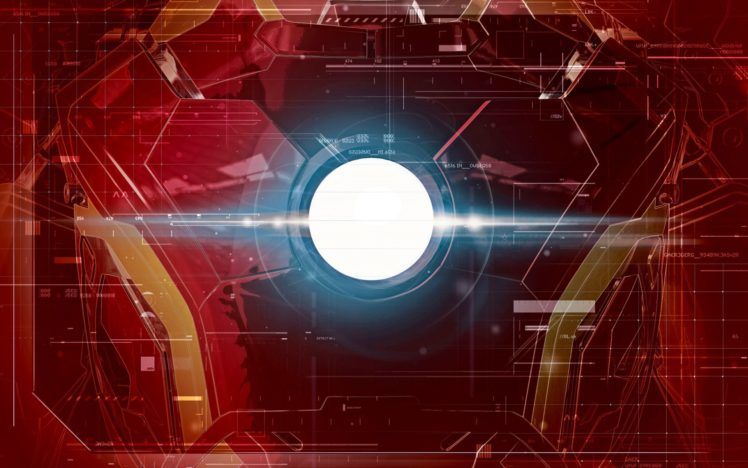 Arc Reactor, Iron Man, Marvel Comics HD Wallpaper Desktop Background