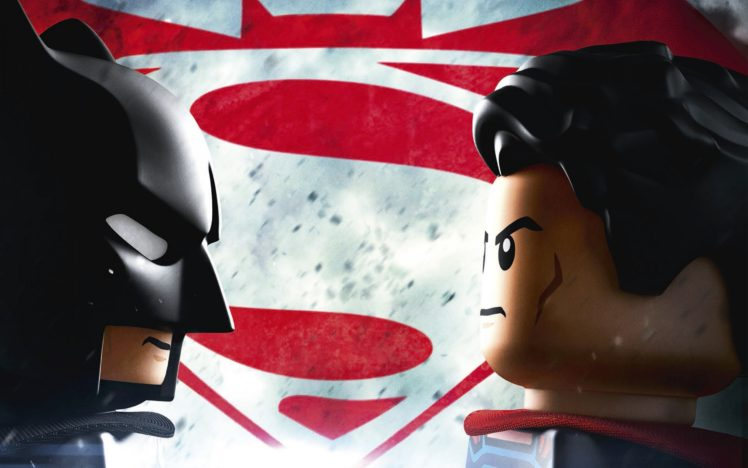 The Lego Movie DC Comics Batman Superman V Dawn