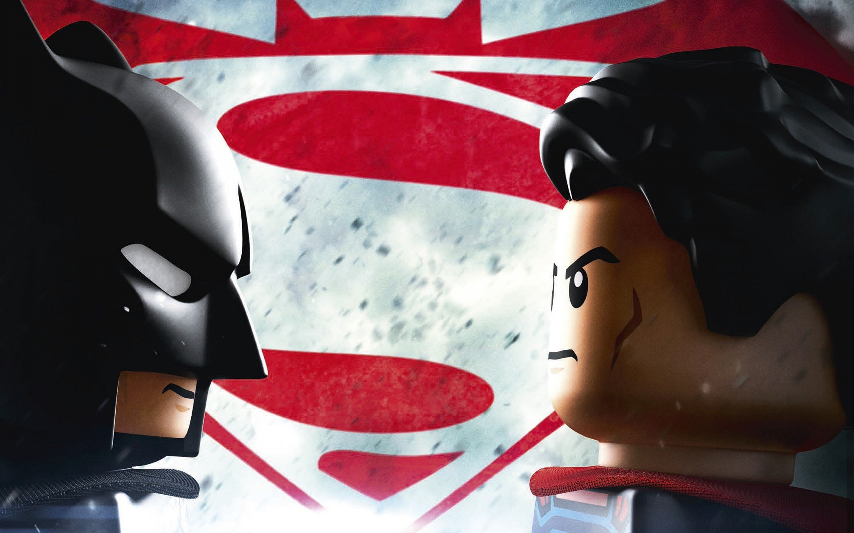 The Lego Movie, DC Comics, Batman, Superman, Batman v Superman: Dawn of Justice Wallpaper