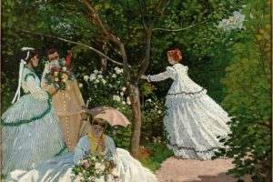 Claude Monet, Oil painting, Artwork, Femmes au jardin
