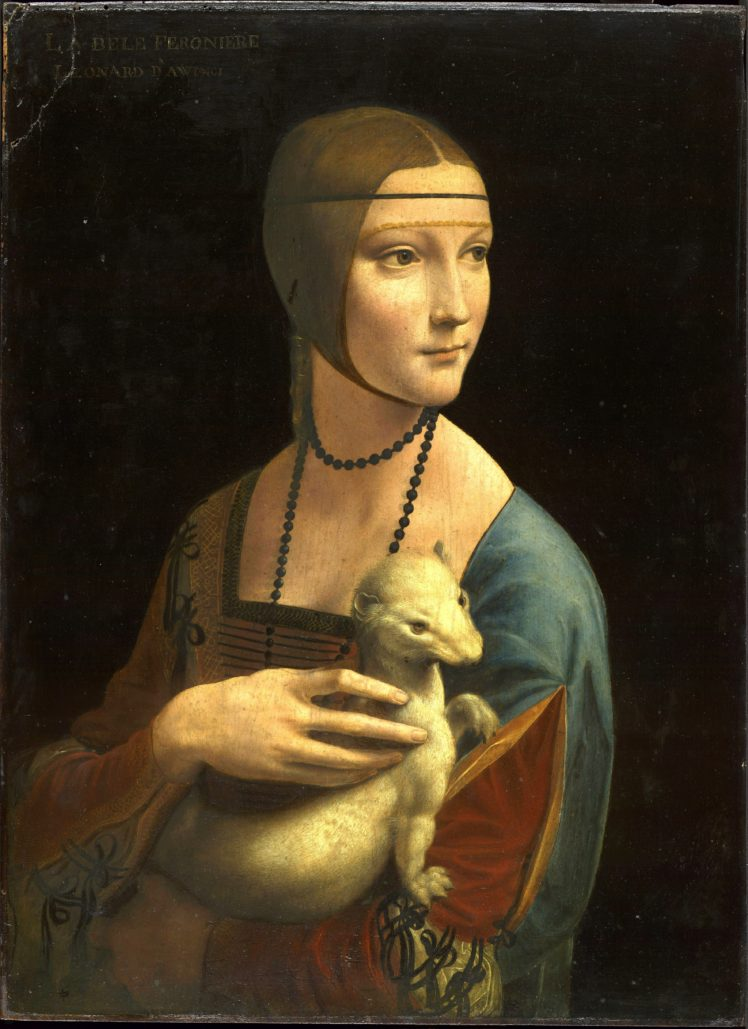 Leonardo Da Vinci Oil Painting Artwork Hd Wallpapers