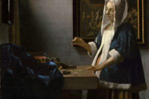 Johannes Vermeer, Oil painting, Artwork