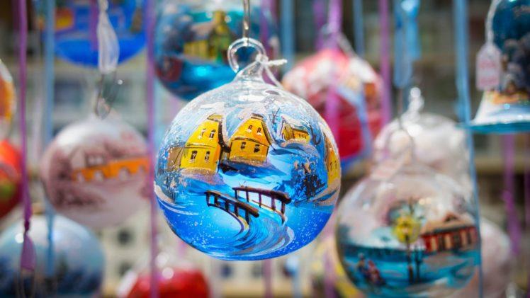 Christmas ornaments, Christmas HD Wallpaper Desktop Background