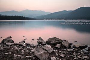 quote, Minimalism, Landscape