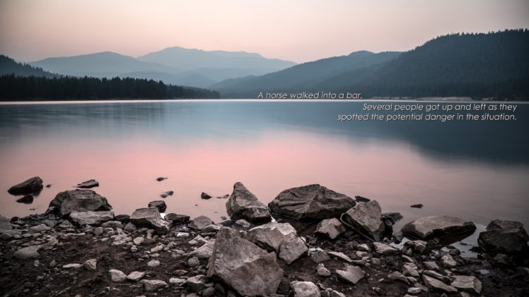 quote, Minimalism, Landscape HD Wallpaper Desktop Background