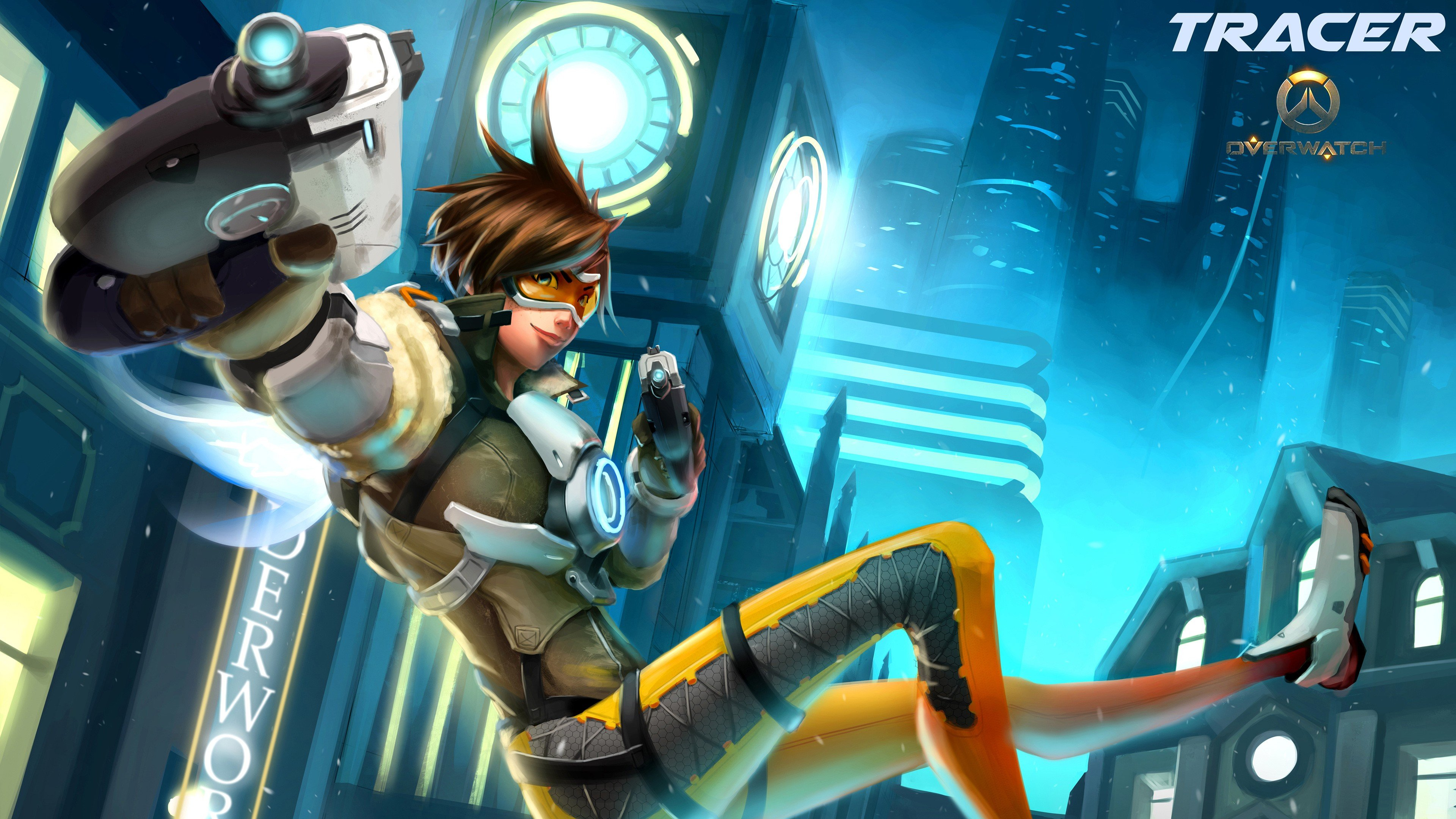 video games, Tracer (Overwatch), Overwatch HD Wallpapers ...