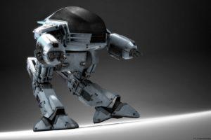 RoboCop, Ed 209, Movies, CGI, Robot