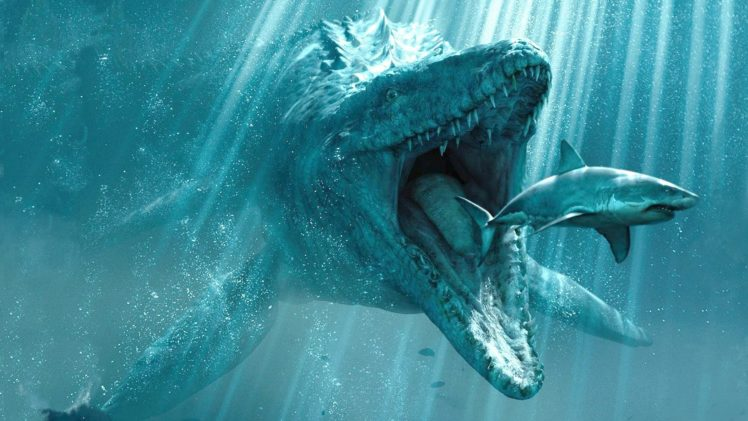 shark, Water, Artwork, Creature HD Wallpaper Desktop Background