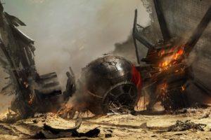 Star Wars, TIE Fighter, Artwork, Fantasy art