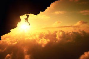 men, Furstset, Nature, Landscape, Clouds, Rock climbing, Silhouette, Rock, Sun, Sunlight, 500px