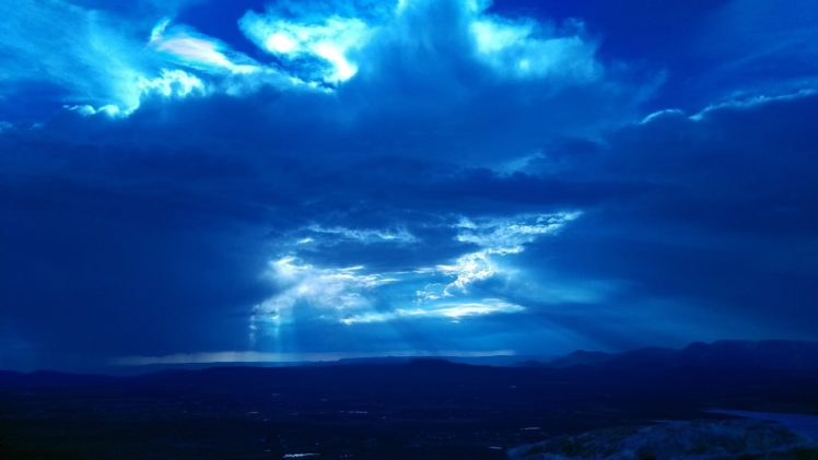 sunset, Sky, Clouds, Landscape HD Wallpaper Desktop Background