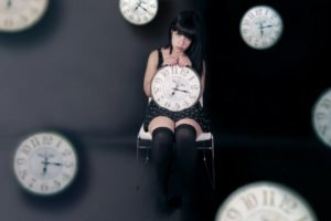 women, Clocks